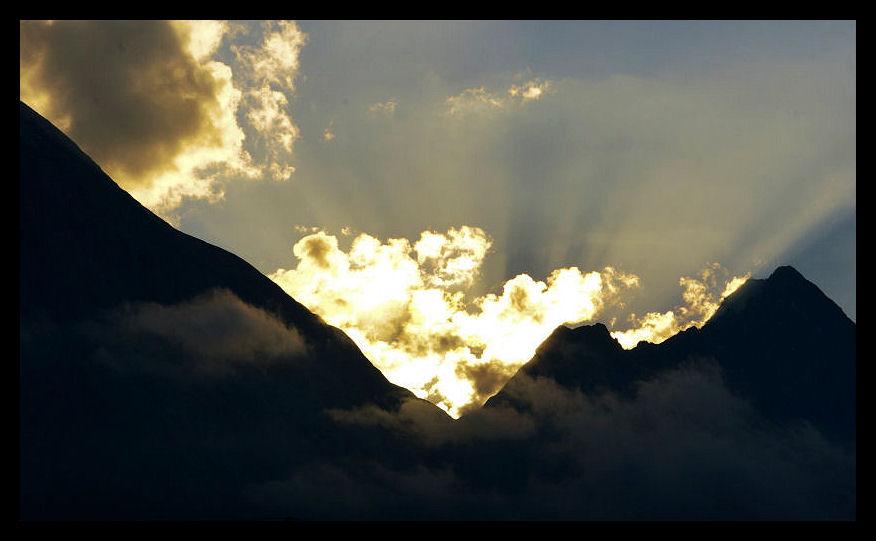Hinter den sieben Bergen...