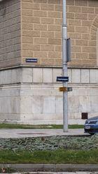 Hinter der Akademie der Bildenden Künste in Wien