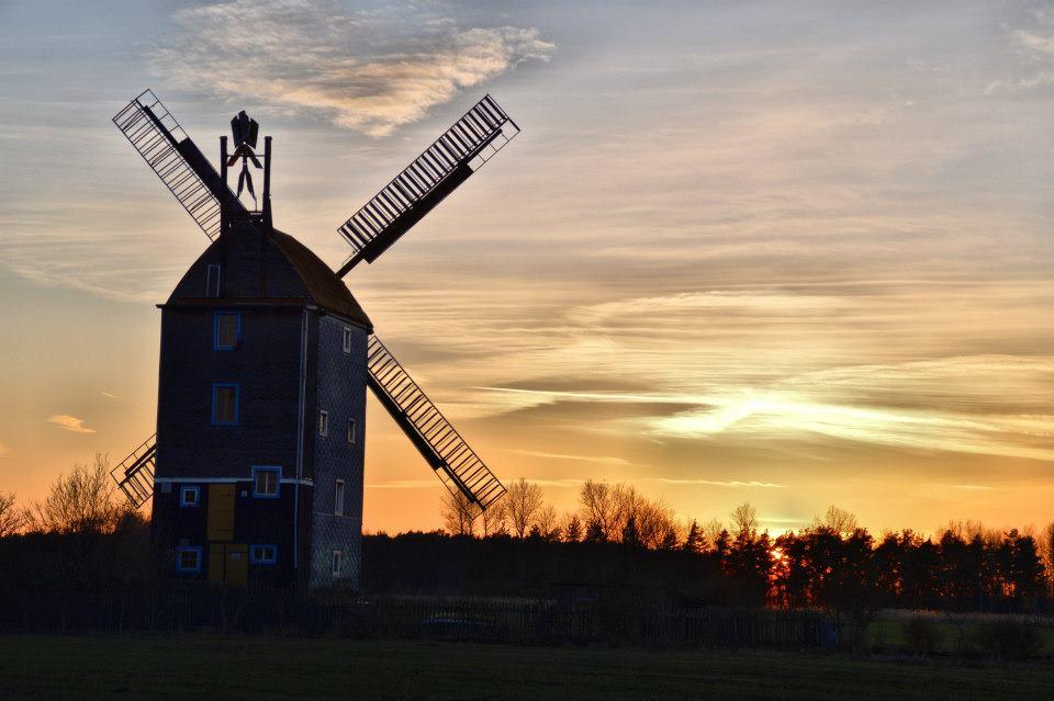 hinter der alten Mühle
