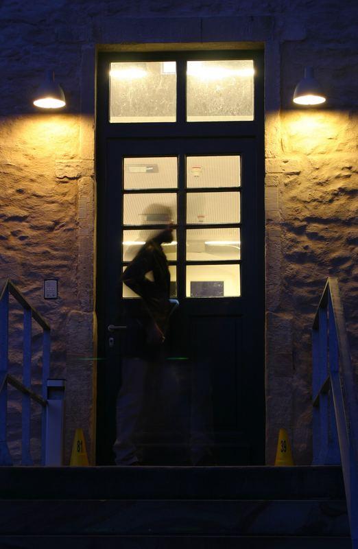 Hinter diesem Eingang waren keine weiteren Fotos erwünscht *smile