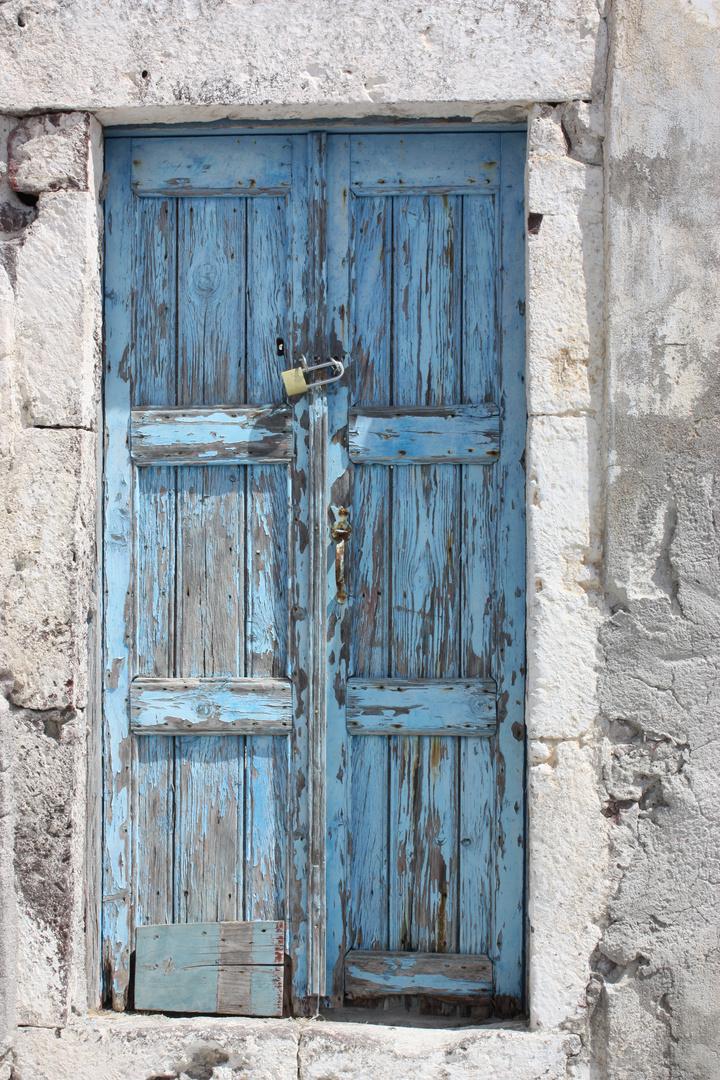 Hinter dieser Tür ....