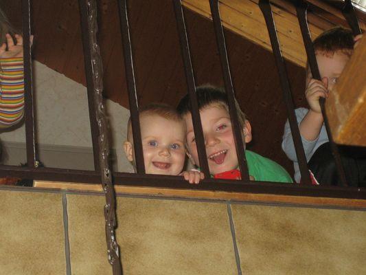 Hinter Gittern und trotzdem glücklich