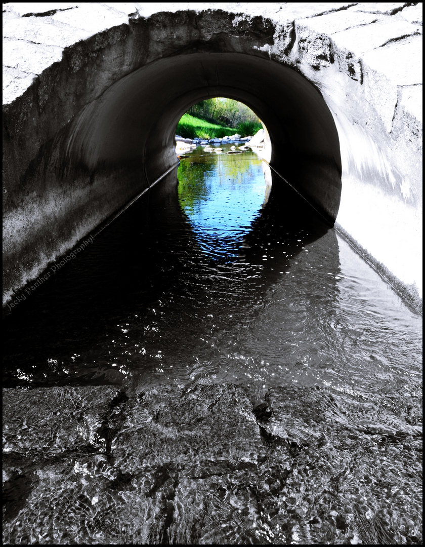 Hinter jedem Tunnel wartet das Paradies