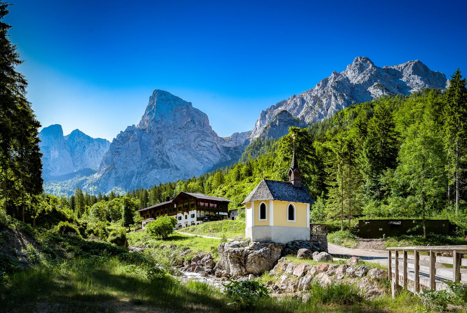 Hinterbärenbad im Kaisertal. Foto & Bild | landschaft