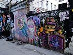 Hinterhof Graffitti