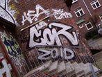 Hinterhof-Graffitty