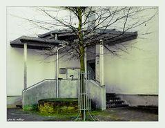 Hinterhof in der Stadt 1