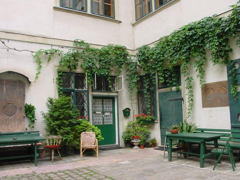 Hinterhof in der Wiener Innenstadt