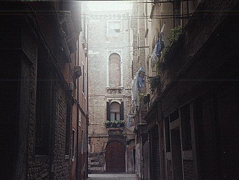 Hinterhof in Venedig