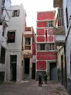 Hinterhofidylle in Marokko