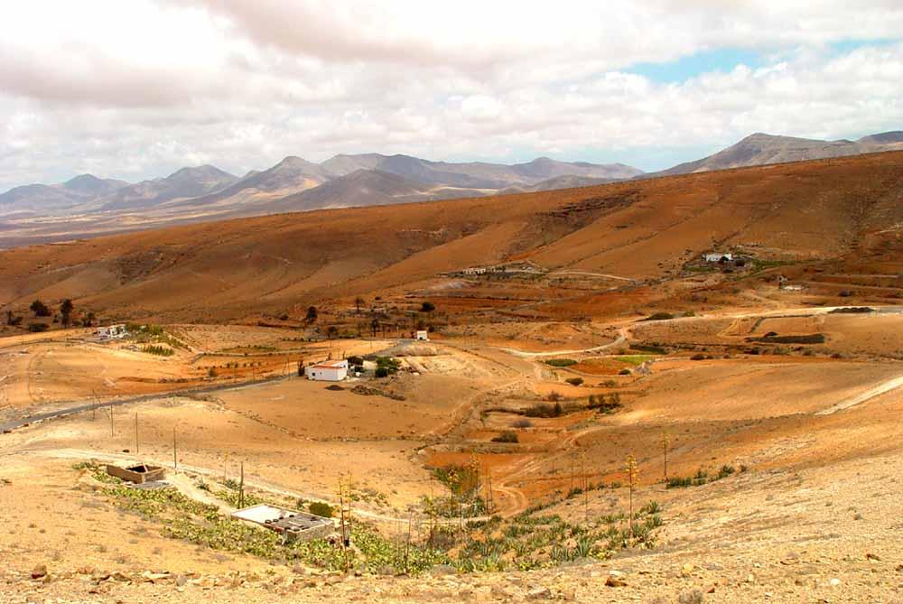 Hinterlandschaft von Fuerteventura