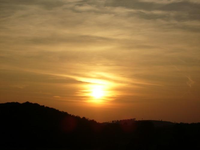 Hinter'm Horizont...