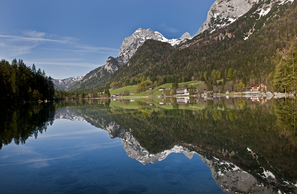 hintersee berchtesgaden nationalpark foto bild landschaft natur bilder auf fotocommunity. Black Bedroom Furniture Sets. Home Design Ideas
