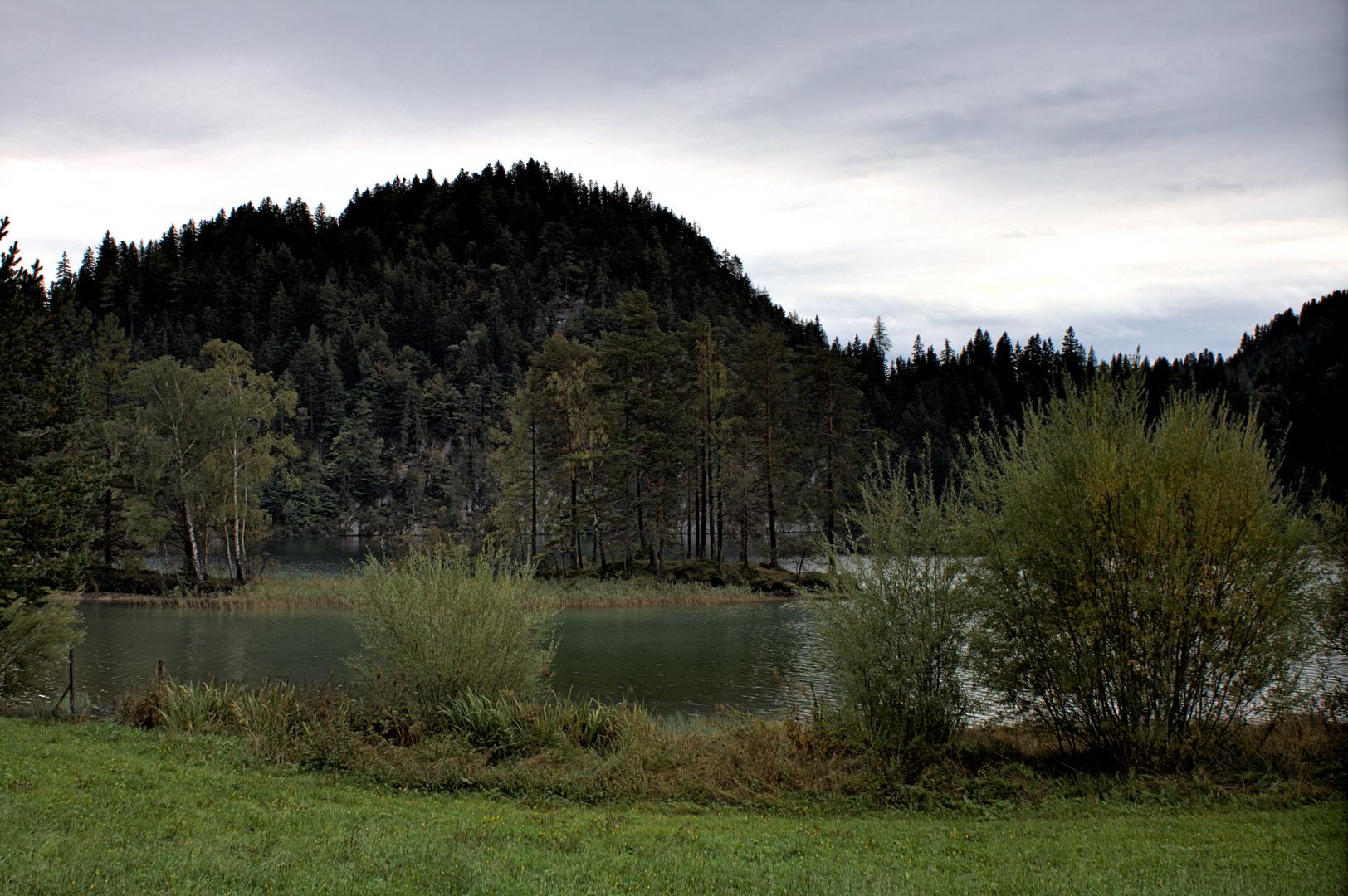 Hintersteiner See, Scheffau, Tirol ( HDR )