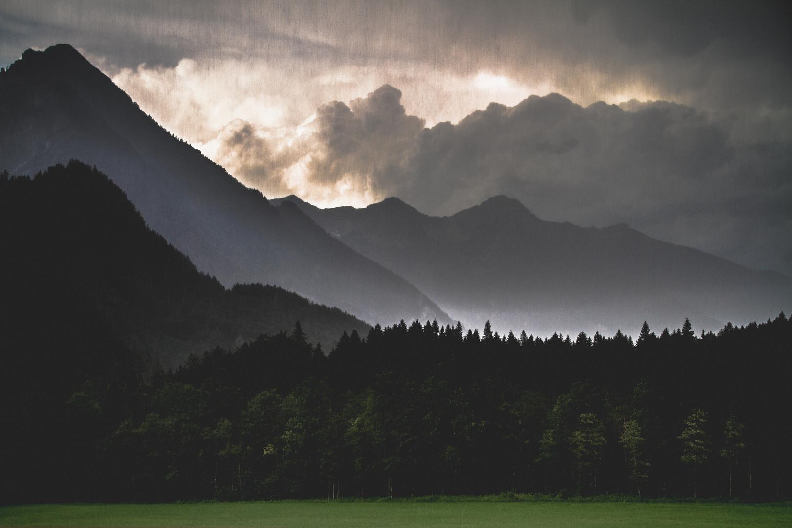Hinterstoder Landschaft