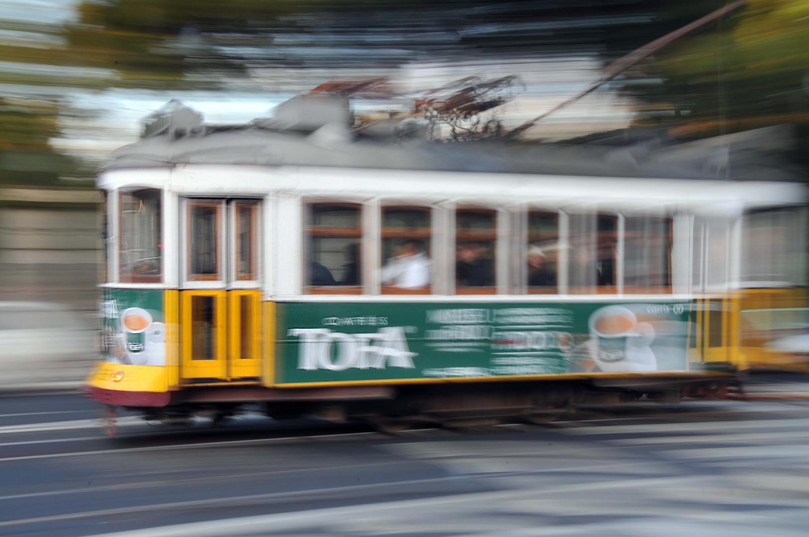 Hiper velocidad en Lisboa