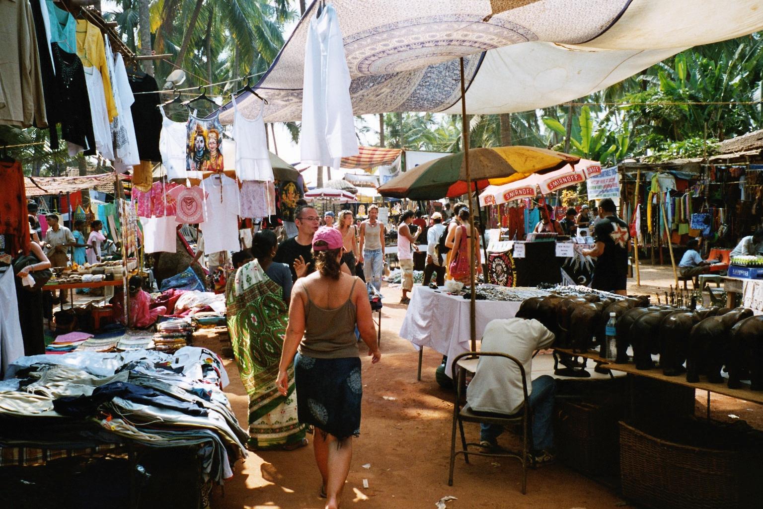 Hippiemarkt in Anjuna