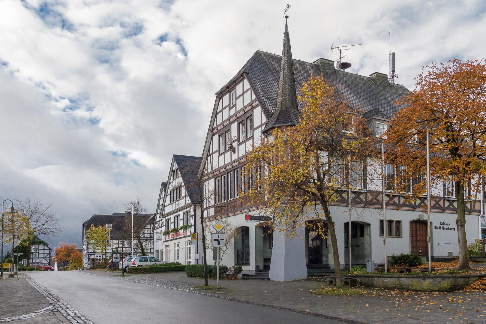 Hirschberg im Sauerland am 26.10.2013