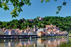 Hirschhorn, die Perle am Neckar, lädt zum Verweilen ein.