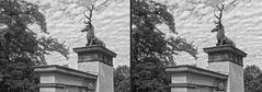Hirschtor Schlosspark Glienicke (3D)