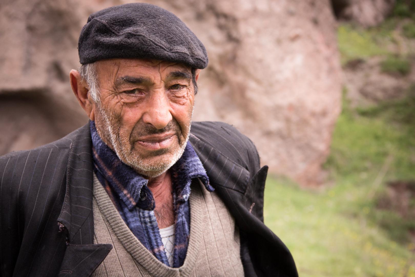 Hirte in Armenien
