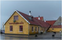 Hirtshals Kro im Regen