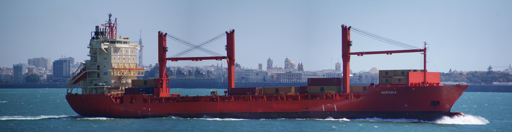 Hispania outbound Cadiz