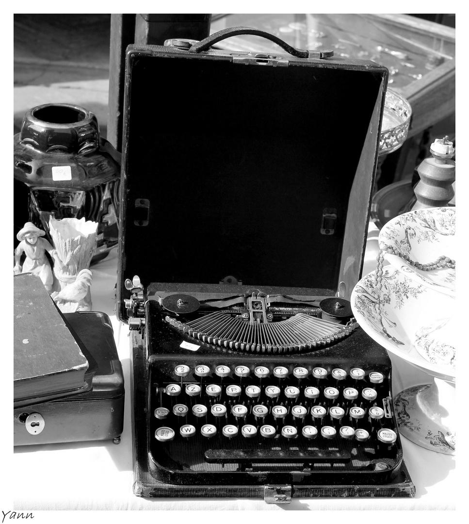 Histoire d'écriture...