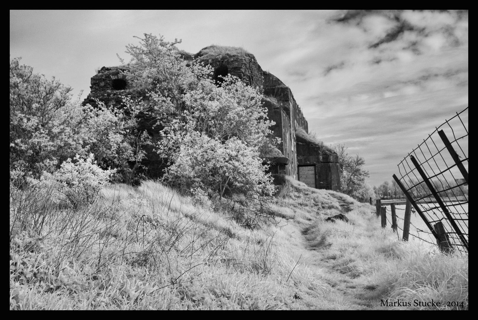 Historische Eisenbahnbrücke Wesel -5-