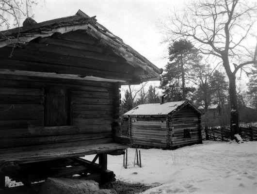 Historische Holzhäuser Schwedens