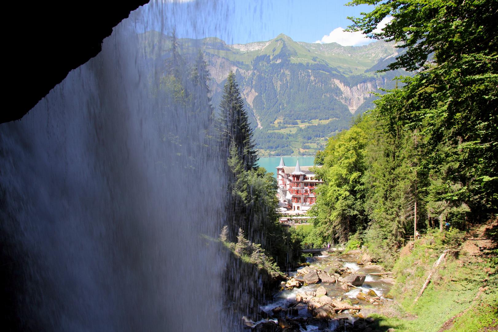 """Historische Hotelresidenz """"Giessbach"""" am Brienzer See"""