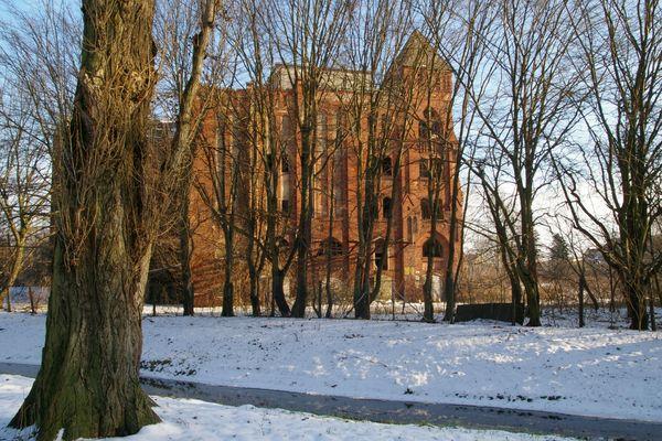historische Industriekultur am Schwanenteich