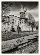 Historische Mühle...