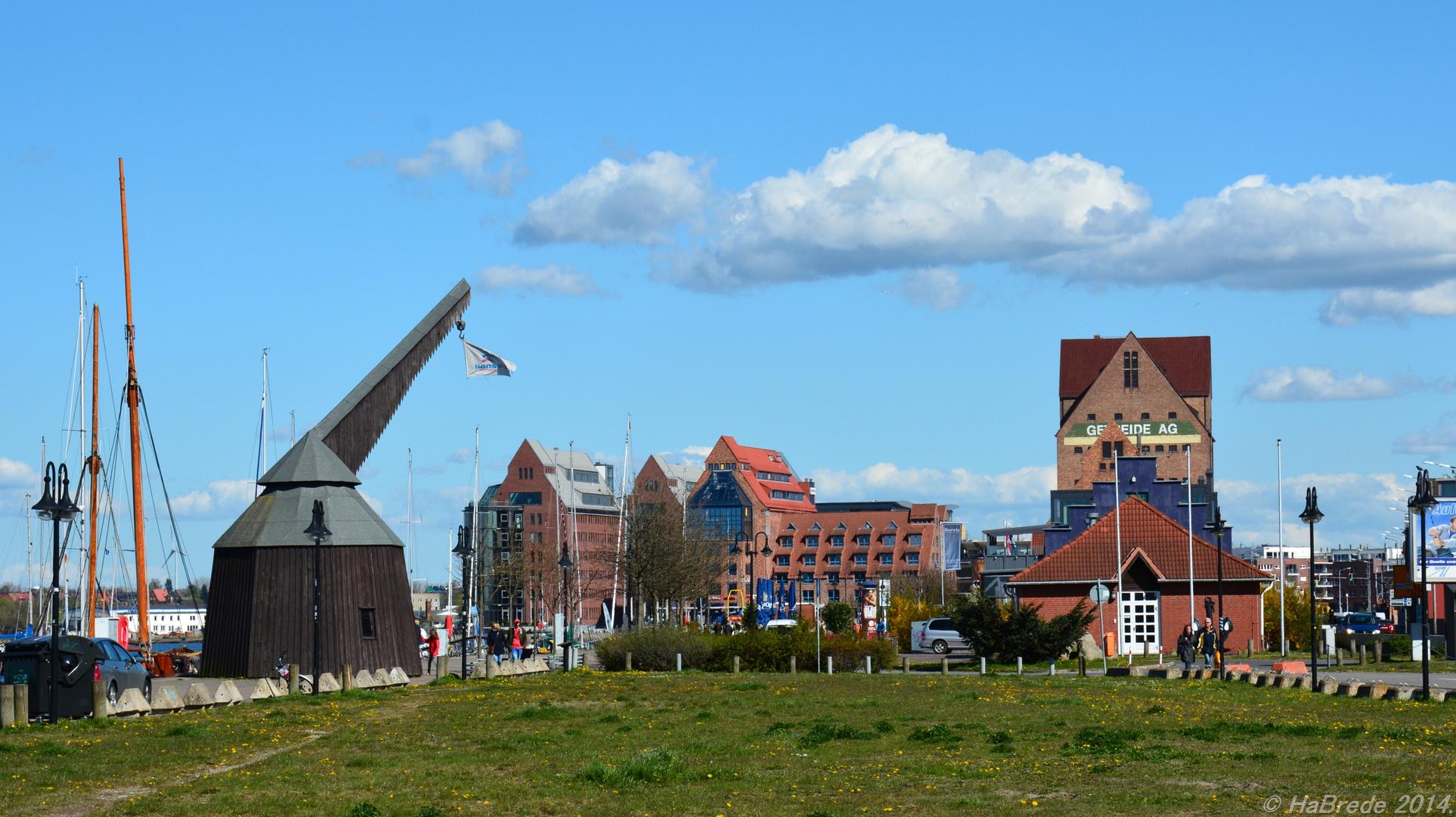 Historische Speicher in Rostock