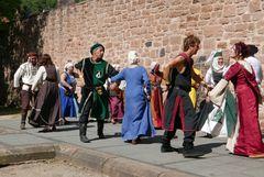 Historische Tanzvorführung