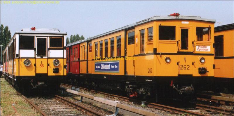 Historische U-Bahn Züge