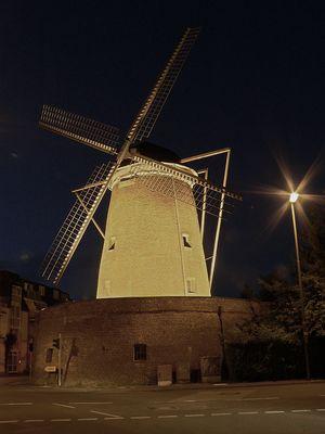 Historische Windmühle...