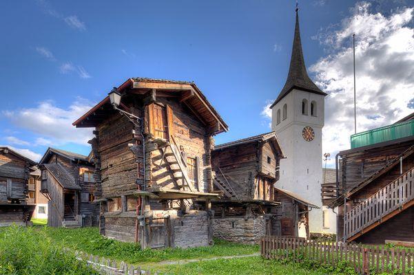 Historischer Dorfkern...