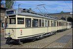 Historischer Dreiwagenzug ...