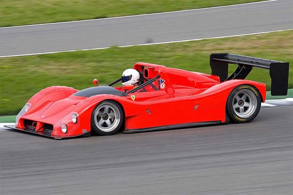 Historischer Ferrari