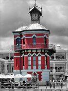 Historischer Leuchtturm in Kapstadt