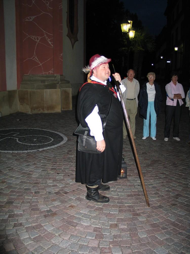 Historischer Nachtwächter in Bad Säckingen