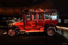 Historischer Reisewagen