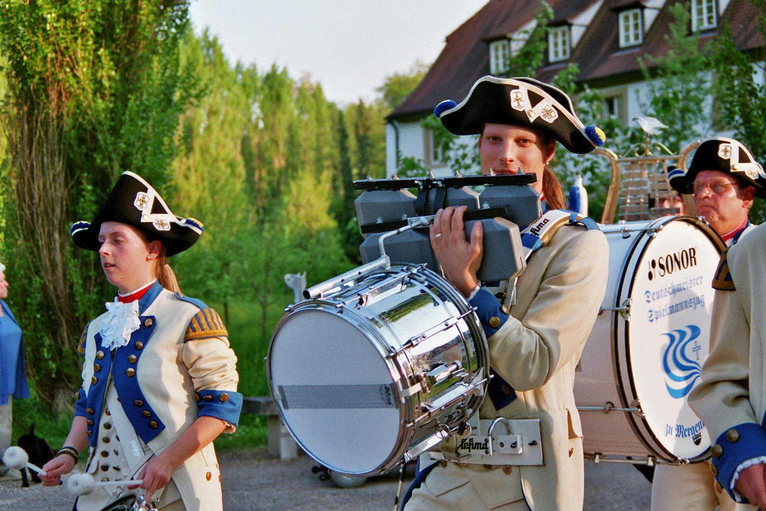 Historischer Umzug am St.-Georgstag in Bad Mergentheim 2007
