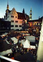 Historischer Weihnachtsmarkt in Dresden
