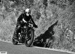 historisches Bergbike - Motorsport wie dazumal