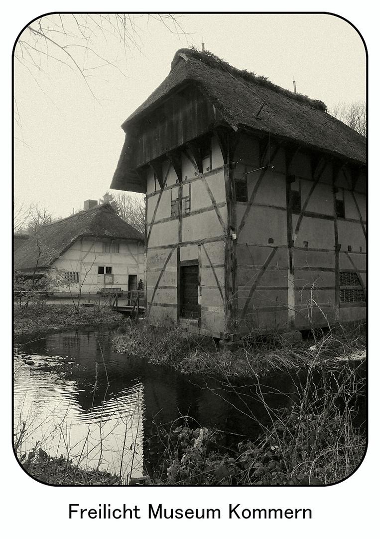 historisches Gebäude im Freilicht Museum in Kommern