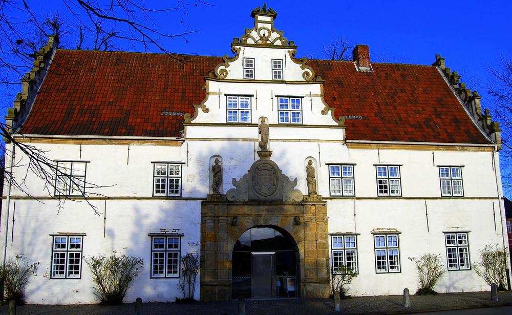 Historisches Gebäude in Husum