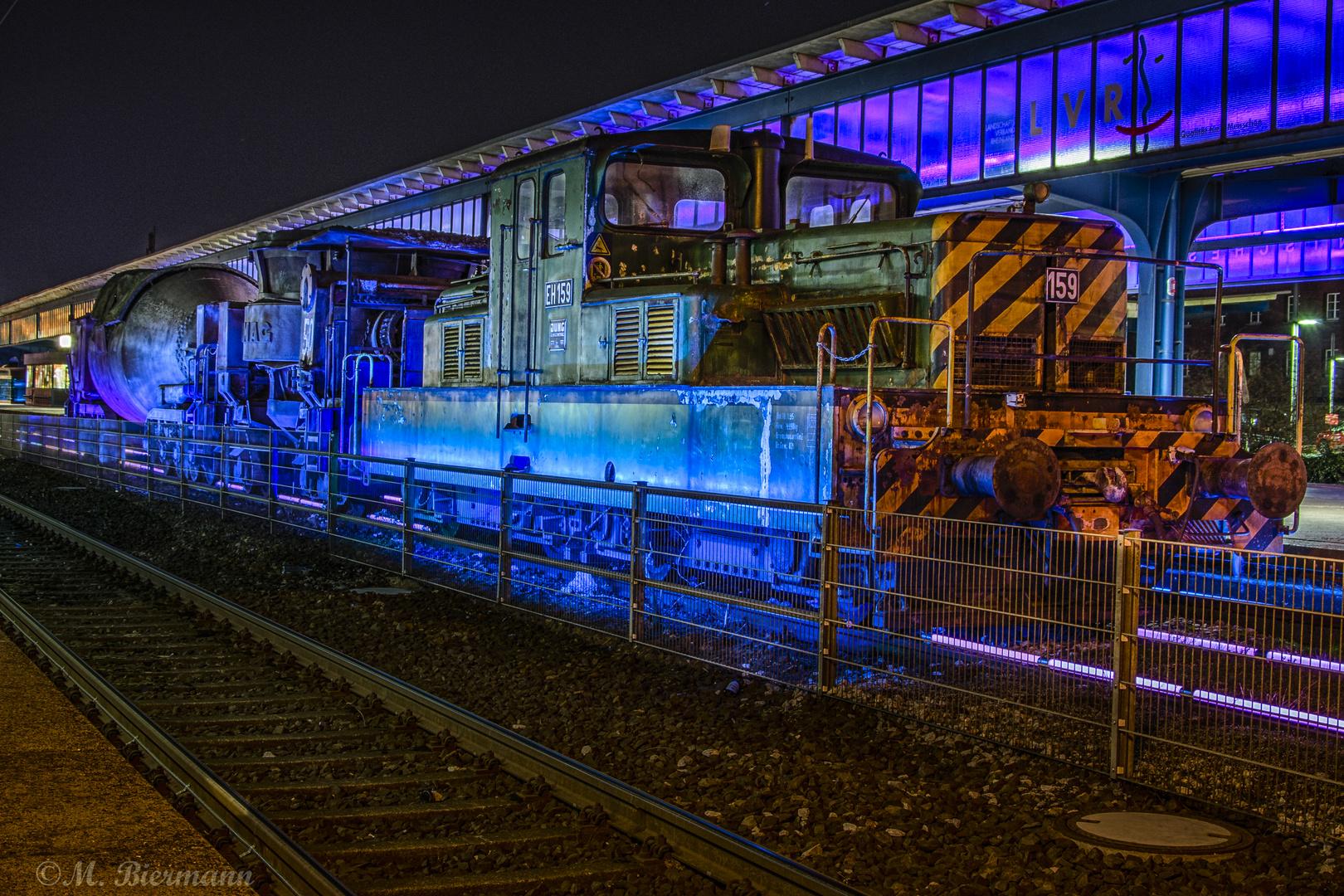 Historisches Gleis Bahnhof Oberhausen