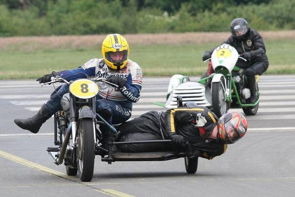 Historisches Motoradrennen Flugplatz Schwarze Heide